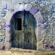 Mittelalterliche Tür - Sizilien - Italien by captainsilva