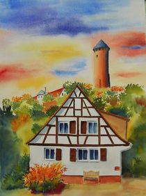 Burgruine Kirkel-Neuhäusel von Theodor Fischer
