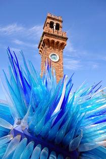 Murano Clock Tower by Valentino Visentini