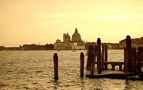 Dusk on Venice by Valentino Visentini