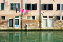 Canal Reflections by Valentino Visentini