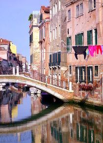 Vintage Canal von Valentino Visentini