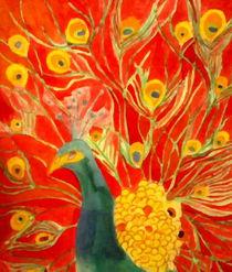 Peacock by nellyart