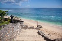 Steps to paradise, Balangan Beach by Tasha Komery