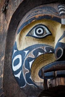 Totem, Vancouver, Canada von Tasha Komery