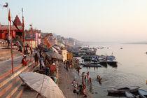 Daybreak, Varanasi by Tasha Komery