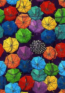 Pattern umbrella von Anna Brodovska