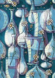 Pattern glasses by Anna Brodovska