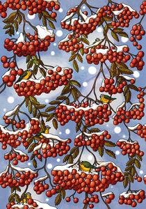 Pattern rowan von Anna Brodovska