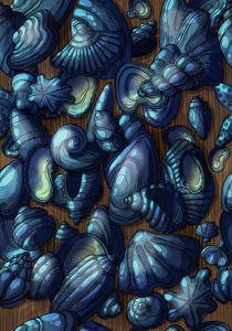 Pattern sea by Anna Brodovska