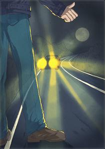 The Vanishing Hitchhiker von Anna Brodovska