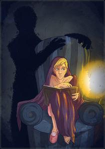 Shadow person by Anna Brodovska