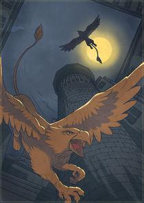 Griffons' tower by Anna Brodovska
