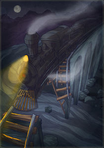 Ghost train von Anna Brodovska
