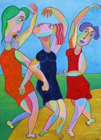 Gemälde 3 Grazien, Painting 3 Graces von Twan de Vos