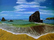 Schottische Küste von Peter Schmidt