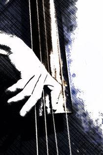 Jazz Bass Poster von cinema4design
