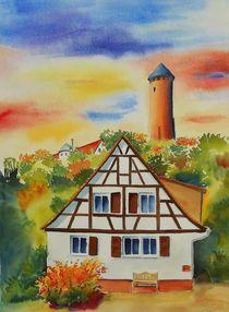 Burgruine Kirkel-Neuhäusel by Theodor Fischer