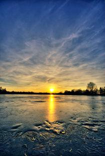 Sonnenuntergang im Winter von maldesowhat