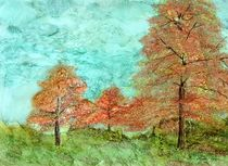 Fall Trees by Linda Ginn