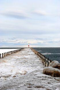 Frozen Pier, 2014 von Caitlin McGee