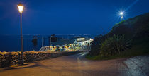 Mumbles cafe and pier by Leighton Collins