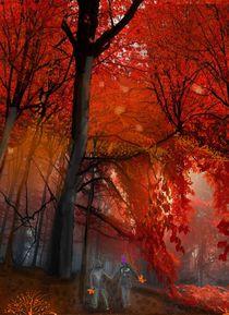 Herbstfeuer - Indian Summer von Heidi Schmitt-Lermann