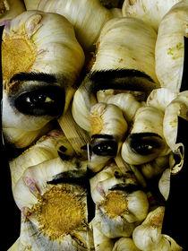 Garlic man by Gabi Hampe