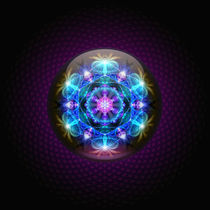 Fibonacci Flower Mandala by Ralf Schuetz