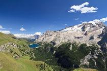 fedaia lake and mount marmolada von Antonio Scarpi