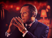 Christopher Walken painting by Paul Meijering