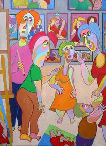 Painting Las Meninas - Gemälde Las Meninas von Twan de Vos