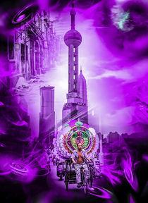 Shanghai Vergangenheit und Zukunft by Walter Zettl