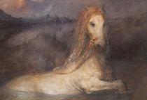 Horse bath by Odd Nerdrum