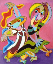 """Painting """"Passionately"""" - Gemälde """"Mit Leidenschaft"""" von Twan de Vos"""