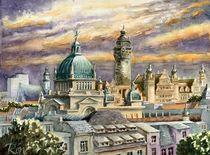 Dächer von Leipzig von Ronald Kötteritzsch
