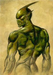 Green Devil by Alan Lathwell