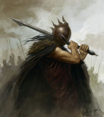 The Warrior by Alan Lathwell