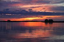 Abend am Fjord von Gerhard Albicker