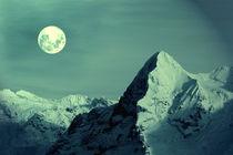 Mitternacht an der Eigernordwand von Gerhard Albicker