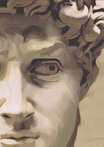 David nach Michelangelo by Marie Luise Strohmenger