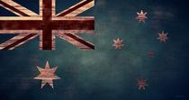 Australian Flag I by April Moen