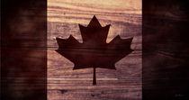Canadian Flag I von April Moen