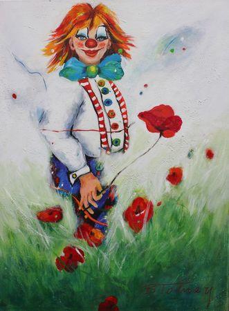 Clown-mit-mohn