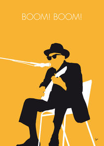 No054-my-johnny-lee-hooker-minimal-music-poster