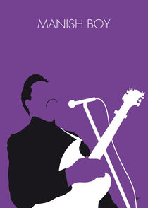 No061 MY Muddy Waters Minimal Music poster by chungkong