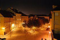'Prag bei Nacht 2' von loewenherz-artwork