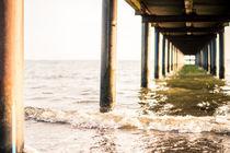 Steg am Strand von Ruby Lindholm