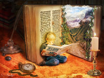 The Book of Magic  by smudgers-art