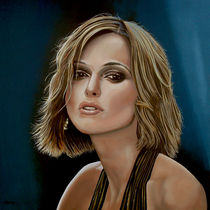 Keira Knightley painting by Paul Meijering